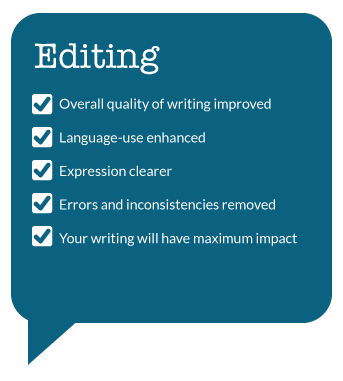 English Language editing and Proofreading Services for academic Authors